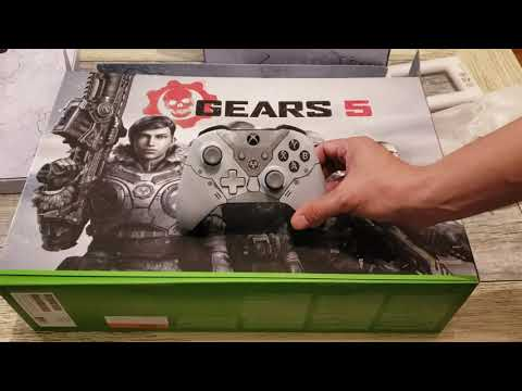 UNBOXING - Limited Edition Gears 5 Xbox One X Bundle!