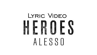 Alesso – Heroes (We Could Be) feat. Tove Lo (Official Audio/Lyrics Video) Video