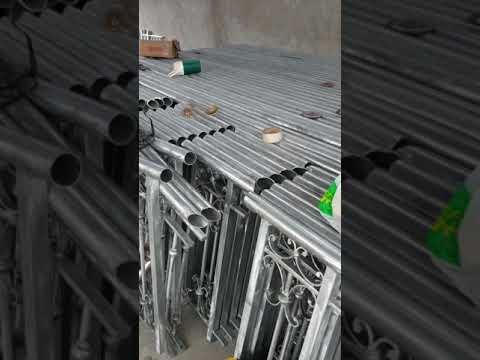 Quy trình xử lý mạ kẽm nhúng nóng thành phẩm tại xưởng cty tuấn phong