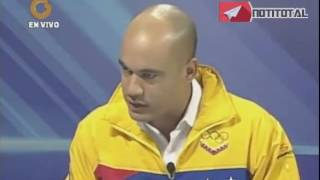 La discusión de Vladimir Villegas y Héctor Rodríguez