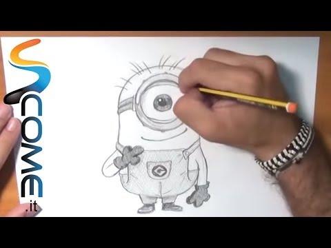 Come disegnare i minions abcscuolaprimaria for Immagini dei minions da colorare