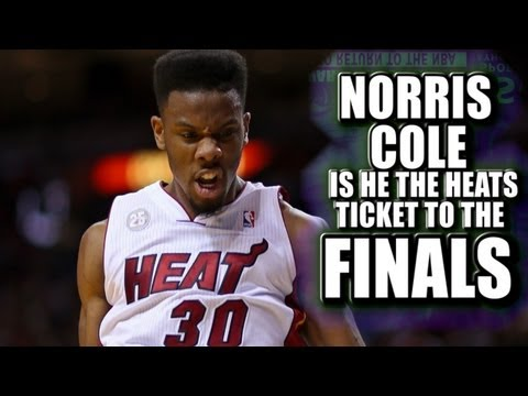 Norris - Norris Cole will he help the Miami Heat win make it to the NBA finals.
