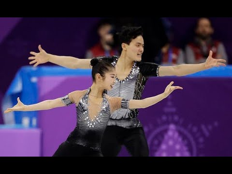 The Latest: N. Korean pairs skaters draw wild cheers