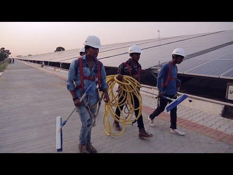 india: primo aeroporto al mondo che funziona soltanto con il sole!