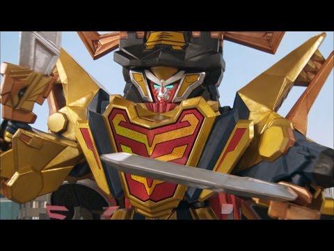 Claw Armor Megazord Debut Fight (Power Rangers Super Samurai) | Power Rangers Official