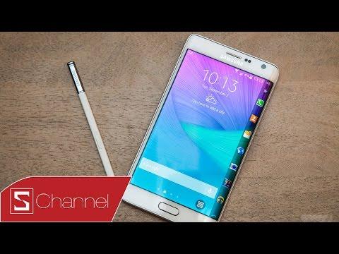 Mở hộp Galaxy Note Edge màu trắng bản quốc tế