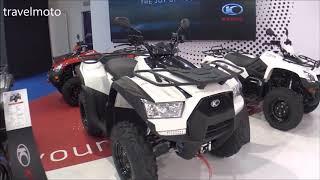 8. The 2018 KYMCO MXU 550i E4 ATV