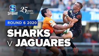 Sharks v Jaguares Rd.6 2020 Super rugby video highlights | Super Rugby Video Highlights