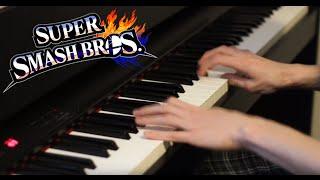 Super Smash Bros 4 – Battlefield/Main Theme (Piano Cover)