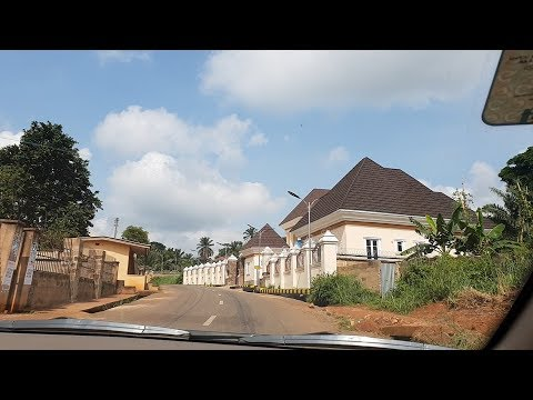 Spot Your Father's House: Onitsha to Ekwulobia, Driving Around Anambra State | Flo Chinyere