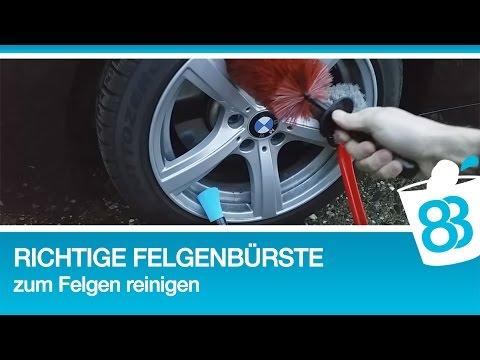 83metoo - Die richtige Felgenbürste zum Felgen reinigen - Felgen richtig sauber machen