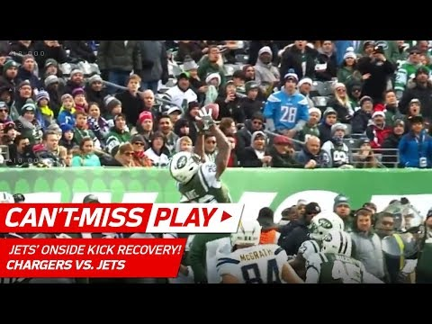 Video: Jets Start the Game by Recovering Surprise Onside Kick vs. LA! | Can't-Miss Play | NFL Wk 16