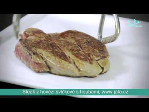 Video: Steak zhovězí svíčkové shoubami