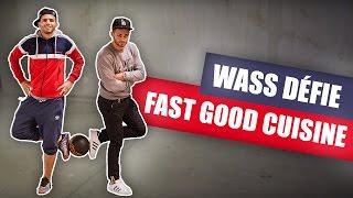 Video Wass défie FASTGOOD CUISINE au FREESTYLE FOOTBALL MP3, 3GP, MP4, WEBM, AVI, FLV Mei 2017