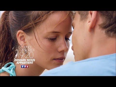 BA TF1 2017 Demain nous appartient avec Luce Mouchel Du lundi au vendredi à 19h20 (видео)