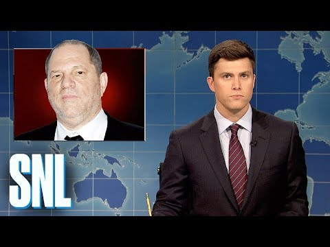 Weekend Update on Harvey Weinstein - SNL (видео)
