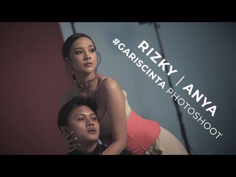 Rizky Febian & Anya Geraldine #GarisCinta Photoshoot | Behind The Scene
