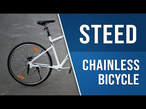 Chainless Bicycle | Steed Dynamics TCS | Ride and Review