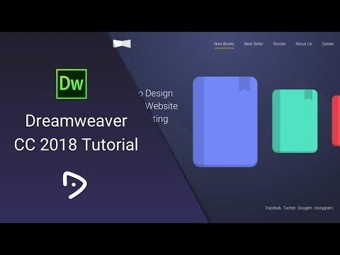 Dreamweaver CC 2018 Tutorial - 1 - Introduction