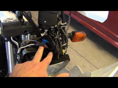 Install GPS 12-Volt Keyed Power on Motorcycle, Suzuki DR650