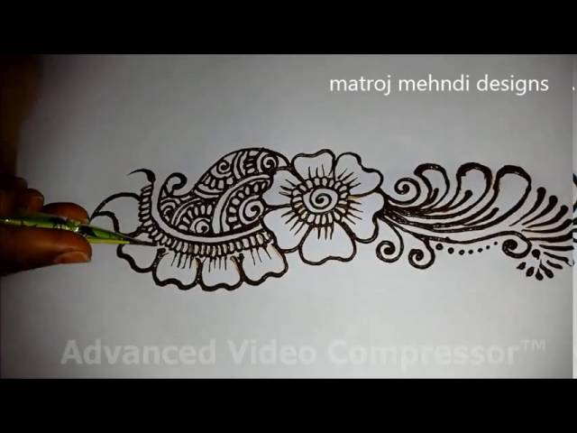 Mehndi Design Tutorial Download : Easy simple beautiful mehndi designs for full hands