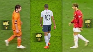 Video Mbappé is Good but... Messi & Ronaldo were Monsters at 19! MP3, 3GP, MP4, WEBM, AVI, FLV Oktober 2018