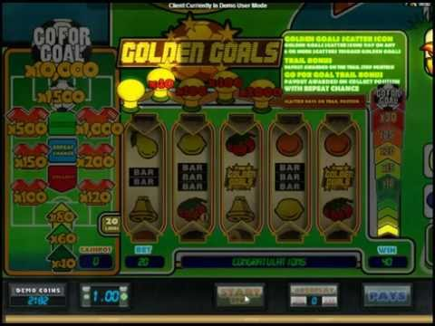 Golden Goals by Microgaming