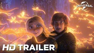 Video HOE TEM JE EEN DRAAK 3 - Officiële Trailer (Universal Pictures) HD MP3, 3GP, MP4, WEBM, AVI, FLV Maret 2019