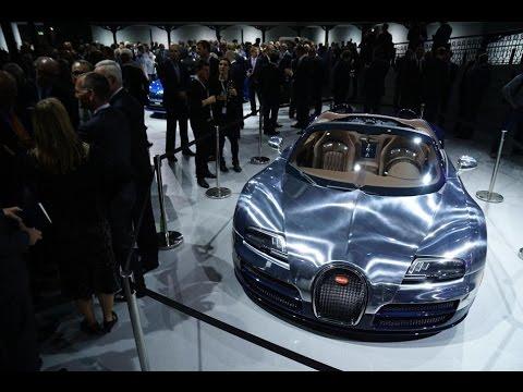 Bugatti Veyron 16.4 GRAND SPORT VITESSE | 2014 PARIS AUTO SHOW