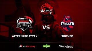 ALTERNATE aTTaX vs Tricked, train, Binary Dragons csgopolygon Season 1