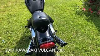 8. 2007 KAWASAKI VULCAN 500 LTD