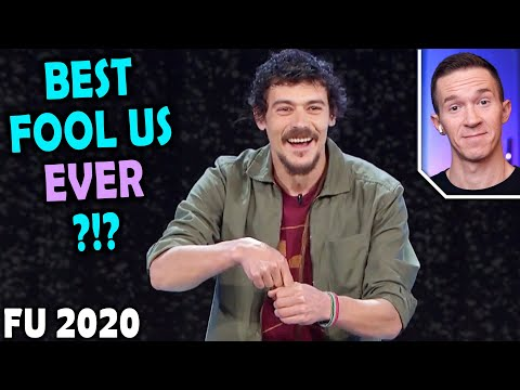 Magician REACTS to Mario López SERIOUSLY AMAZING magic tricks on Penn and Teller FOOL US 2020