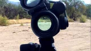 Aimpoint PRO POV Shooters View Red Dot SightI love this sight because you can acquire targets so quickly.