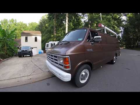 Guy Buys 1989 FBI Surveillance Van