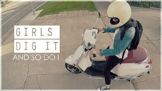 10. 2016 Vespa Primavera 150 Scooter Intro | Moto Vlog