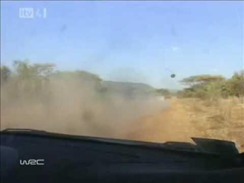 WRC Craziest Moments II - Gilles Panizzi vs. Roberto Sanchez