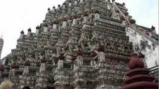 タイの寺院ワットアルン