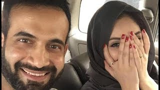 Irfan Pathan's wife can be seen wearing nail polish in a picture uploaded by the Indian all-rounder on Facebook, which drew flak ...