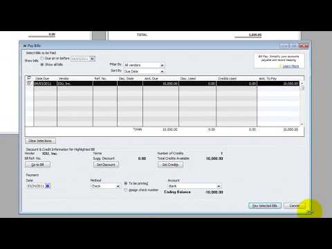 QuickBooks Tutorial - What Happens When My Customer Pays My Vendor?