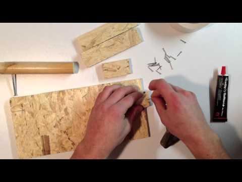 comment construire une mangeoire pour oiseaux en bois