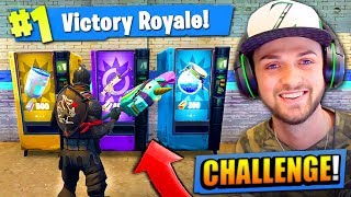 Video VENDING MACHINE *ONLY* CHALLENGE in Fortnite: Battle Royale! MP3, 3GP, MP4, WEBM, AVI, FLV Agustus 2018