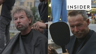 This Hairdresser is Giving Homeless People Haircuts