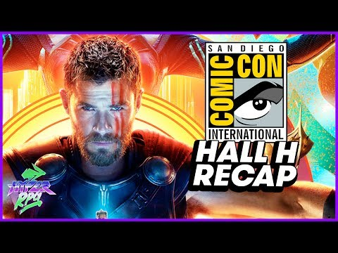 Avengers: Infinity War Revealed at SDCC 2017
