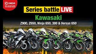 1. 2017 Kawasaki Z900, Z650, Ninja 650, Ninja 300 & Versys 650 Lineup