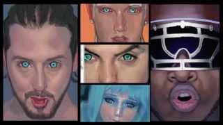 Speed Paint Video - PTX Daft Punk Medley - YouTube