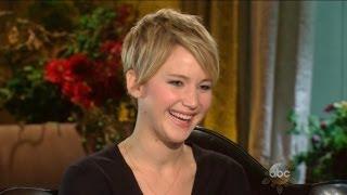 Jennifer Lawrence Talks About Tackling Fame