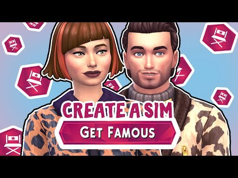 Get Famous CAS New Trait & Aspirations! The Sims 4 - Overview