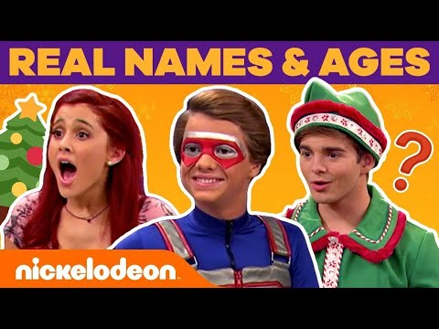 Famous Nick Stars Real Name & Ages: HOLIDAY EDITION! 🎄| #NickStarsIRL