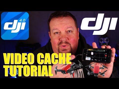 DJI Video Cache Tutorial   Mavic/Spark/Phantom (KlooGee Freeky Fast Friday)