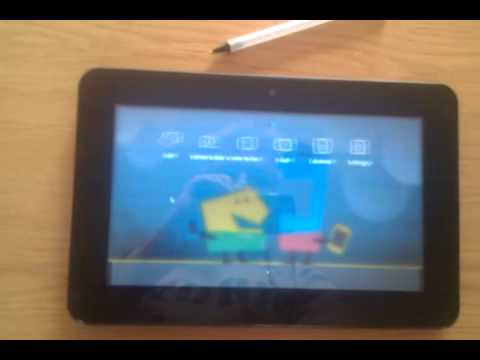 Meego handset ux on advent vega tablet (software gfx)